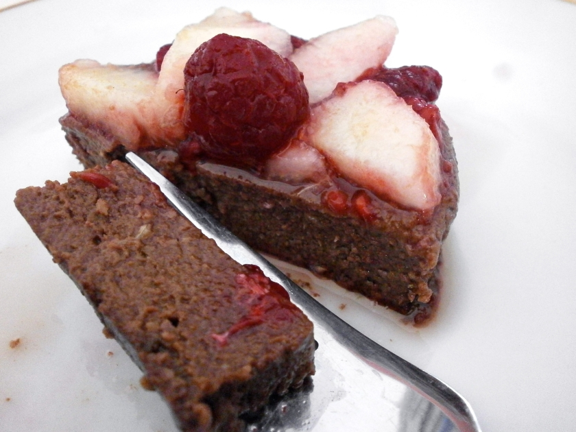 Three-Minute Chocolate Cake
