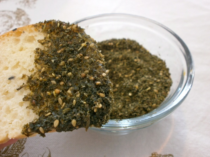 bread with za'atar