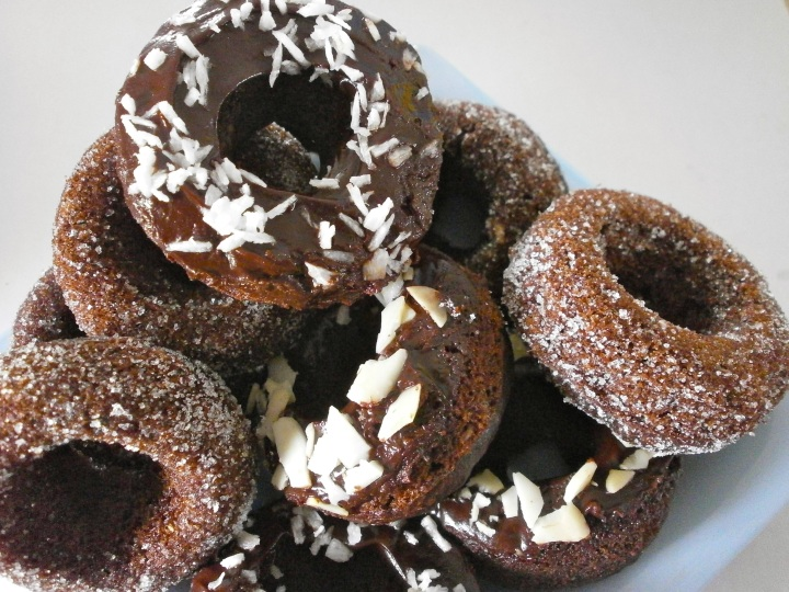 Assorted Chocolate Donuts