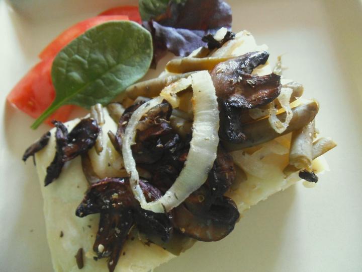 Mushroom Foccacia