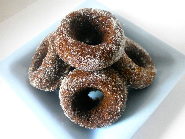 Simple Chocolate Donuts