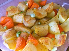 southwest golden crisp potatoes and carrots