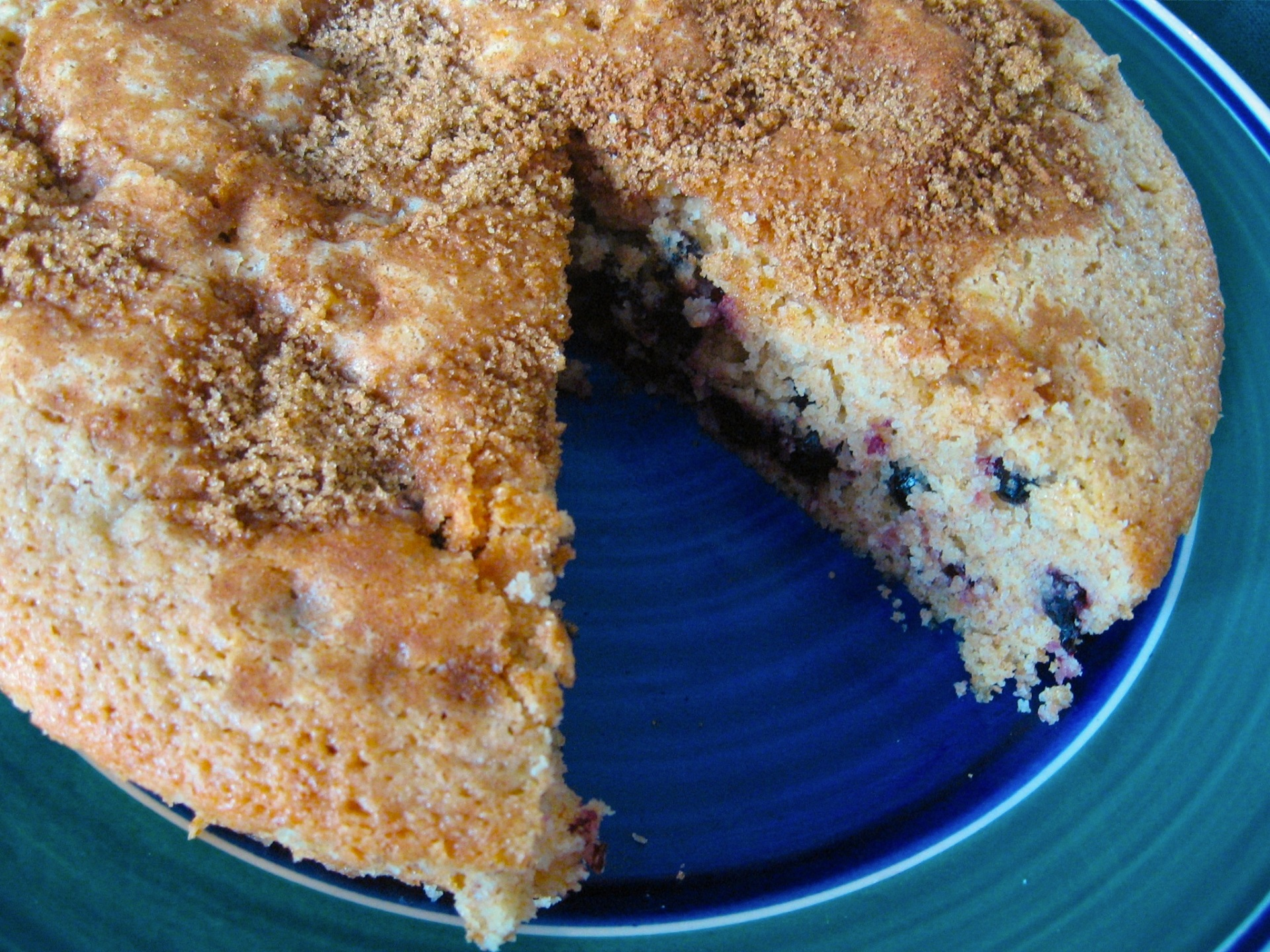 berry lemon brunch cake