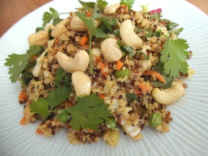 Sesame Quinoa Salad