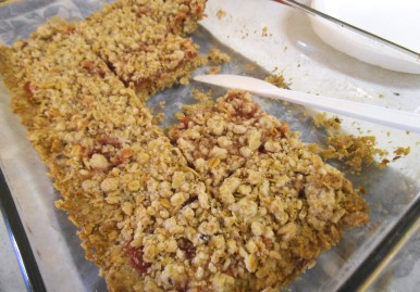 Strawberry-Oat-Bars