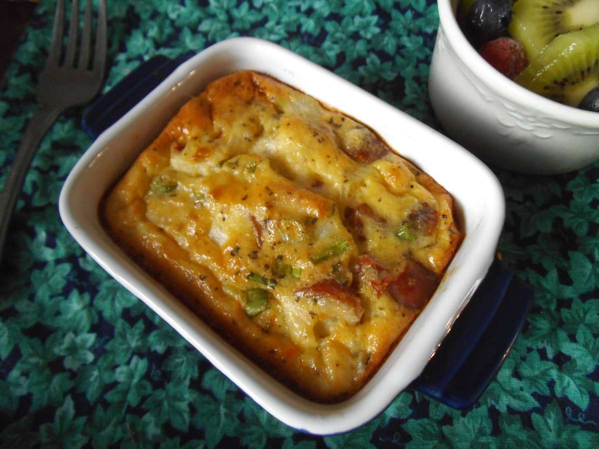 Savoury Egg, Sausage, and Grits Casserole: A Dairy Free Recipe