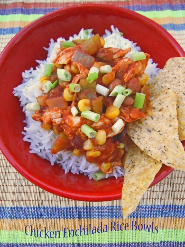 Enchilada Rice Bowls