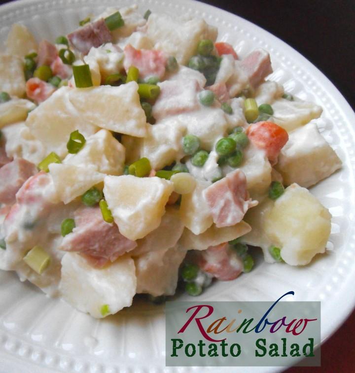 Rainbow Potato Salad copy