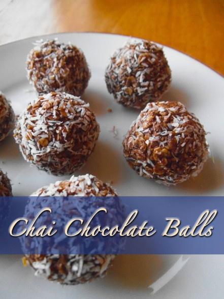 Chai Chocolate Balls