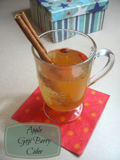 Apple Goji Berry Cider
