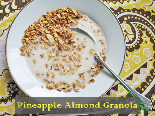Pineapple Almond Granola