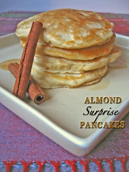 Almond Surpise Pancakes