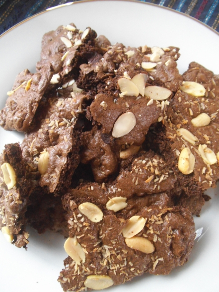 Double Chocolate Cookie Brittle