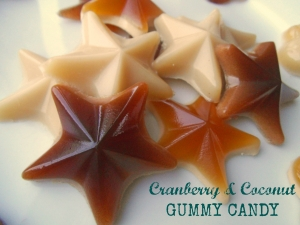 Cranberry & Coconut Gummy Candy