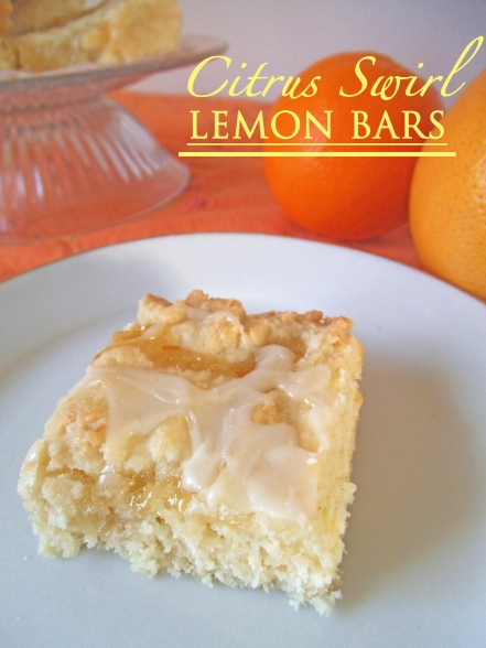 A citrus marmalade swirl boosts this lemon cookie bar into the realm of extraordinary