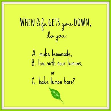 A Quiz about Lemons