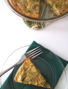 Paleo Artichoke and Greens Quiche