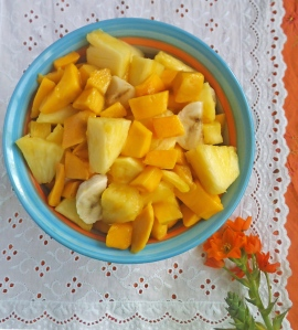 Tropical Paradise Fruit Salad