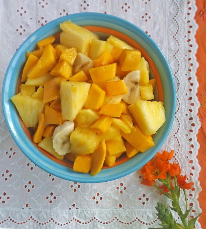 Tropical Paradise Fruit Salad