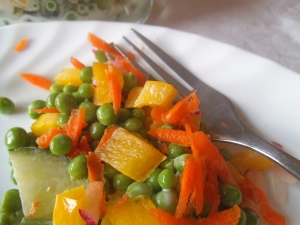 Creamy Sweet Pea Salad