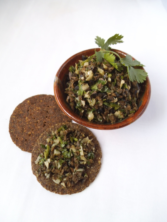 Cilantro Olive Tapenade Swirls And Spice