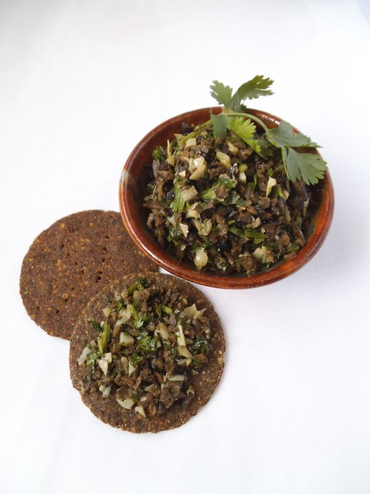 Cilantro Olive Tapenade