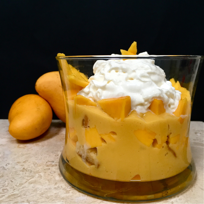 Mango Lemon Trifle Swirls And Spice
