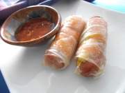 Gluten-Free Pigs in a Rice Sheet