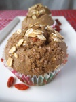 Goji Apple Spice Muffins