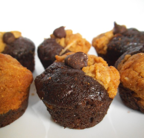 Peanut Butter Cookie & Brownie Bites