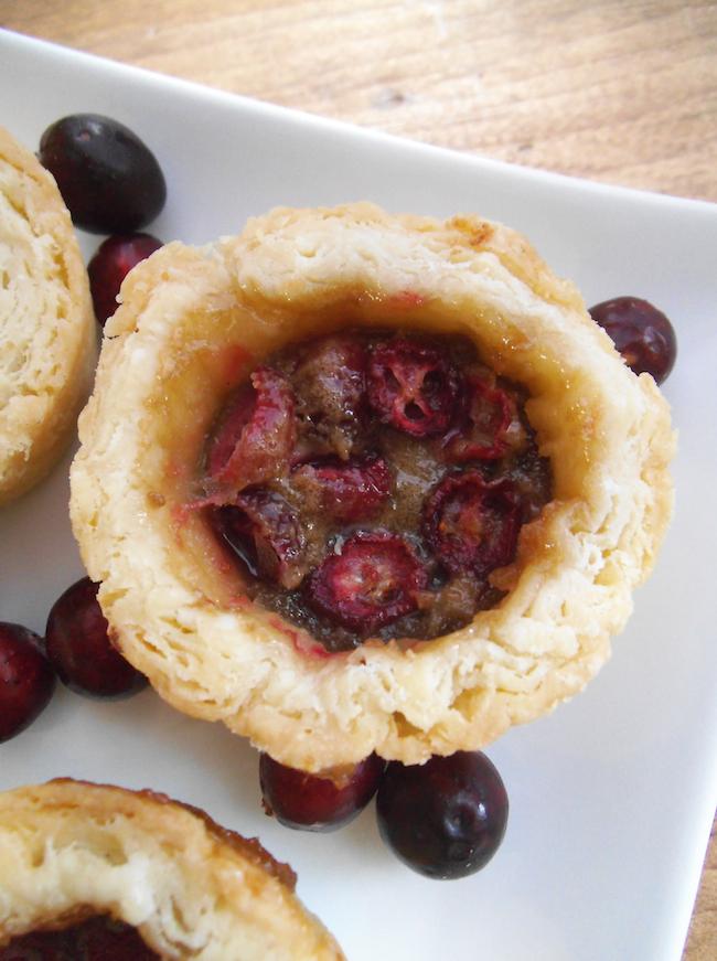 Cranberry Butter Tarts