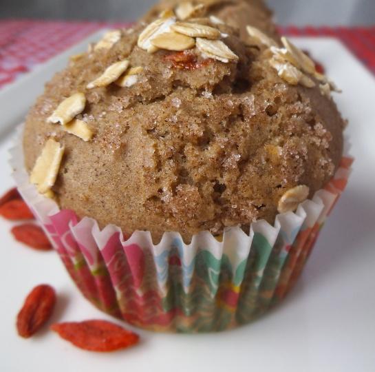 Goji Pear Muffin {Gluten Free}