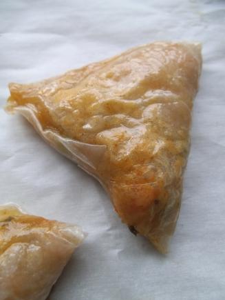 Baked Lentil Samosas