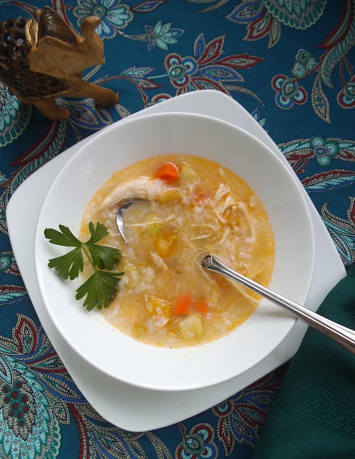 Mulligatawny Soup with Butternut Squash