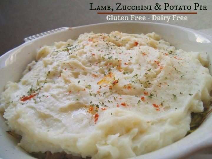 Lamb, Zucchini, and Potato Pie