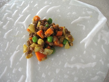 Gluten Free Lentil Samosa