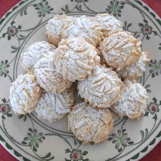 Almond Supreme Cookies