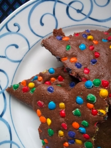 Hot Chocolate Cookie Brittle