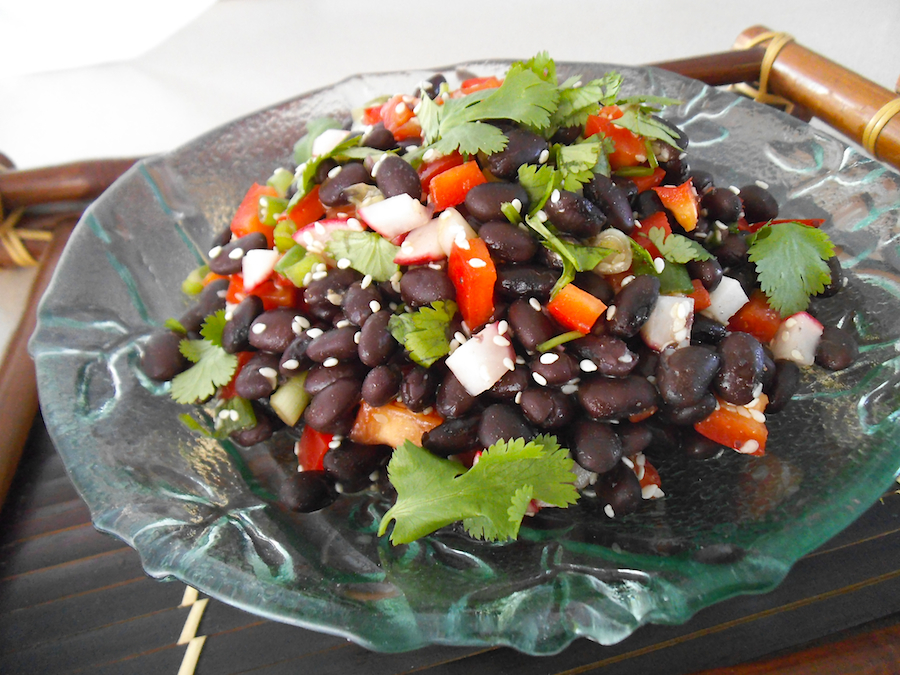 Sesame Black Bean Salad