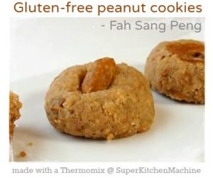 Gluten-Free Peanut Cookies by Helene