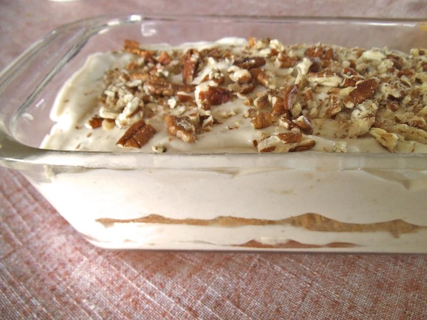 Banana Pudding Icebox Cake | Swirls and Spice