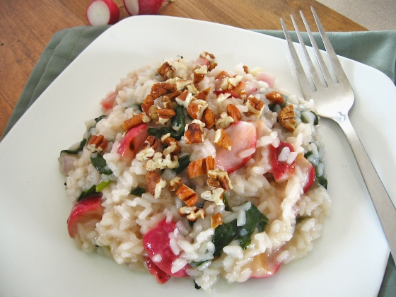 Roasted Radish Risotto