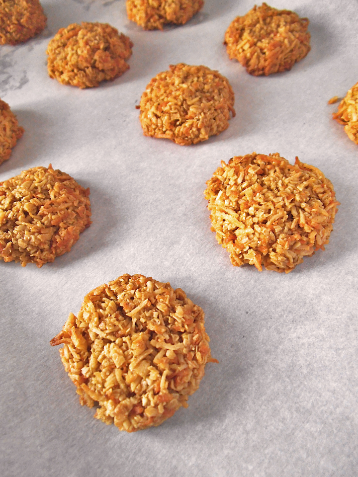 Healthier Samoa Coconut Cookies