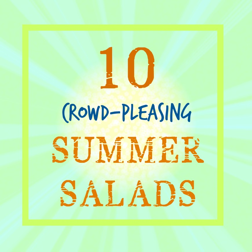 10 Summer Salads | Swirls and Spice #glutenfree