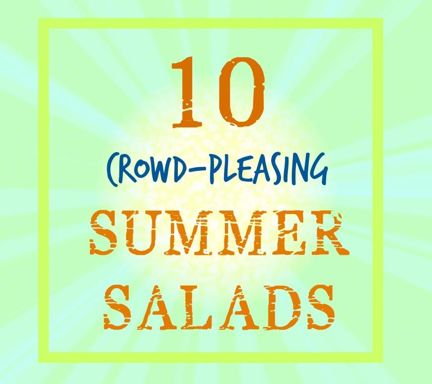 10 Summer Salads | Swirls and Spice #glutenfree
