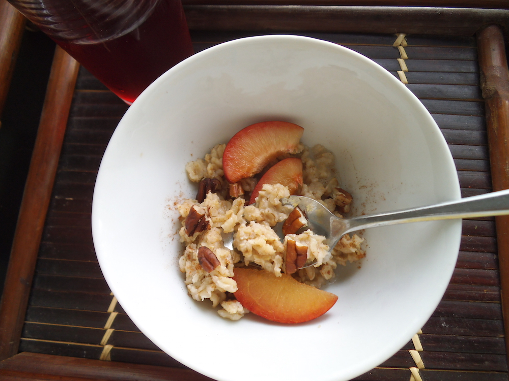Apple Cider Overnight Oats | SwirlsandSpice.com