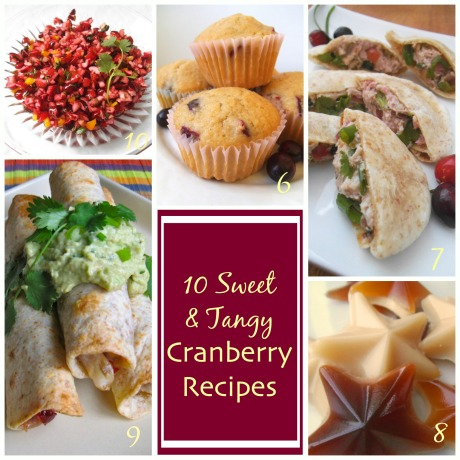 10 Sweet and Tangy Cranberry Recipes | Swirls and Spice