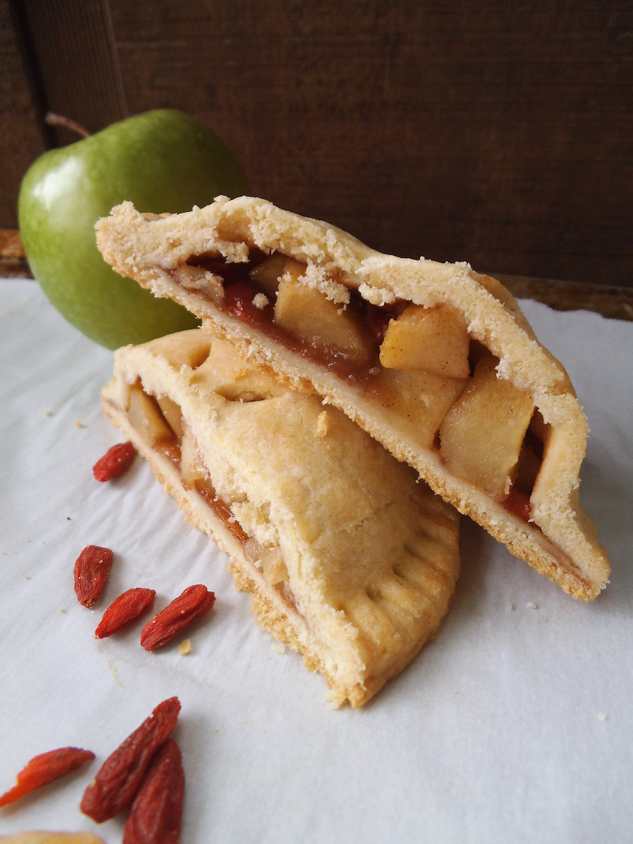 Goji Apple Pie Cookies {Gluten-Free}