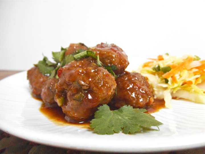 Viet-Thai Meatballs | Swirls and Spice
