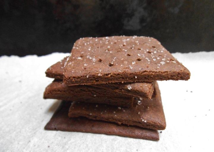 Chocolate Mint Graham Crackers   Swirls and Spice   #glutenfree
